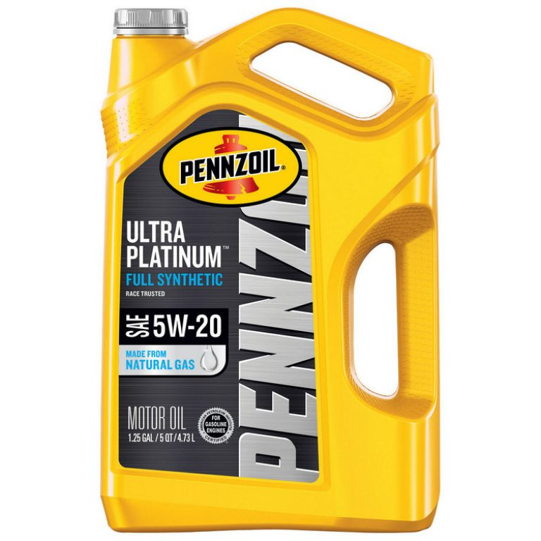 Best Oil For Jeep Wrangler Pennzoil Ultra Platinum Full Synthetic 5W-20 Motor Oil Table Introduction