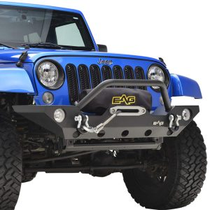 EAG BUMPERS FOR JEEP — Front EAG Winch Bumper