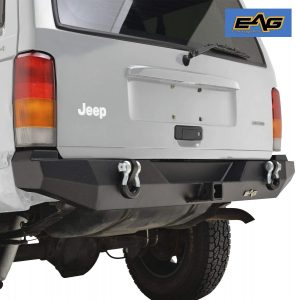 EAG BUMPERS FOR JEEP — Steel Rear Bumper by EAG