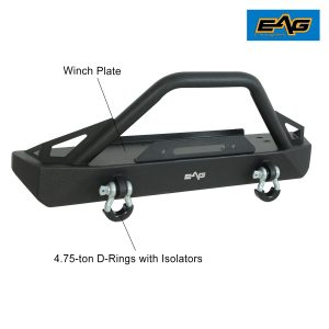 EAG BUMPERS FOR JEEP — Stubby Front EAG Bumpers CJ 2