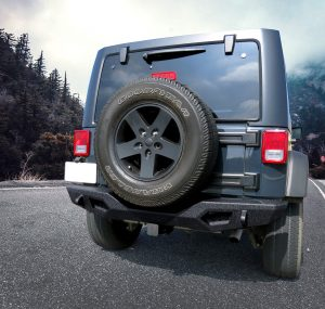 EAG BUMPERS FOR JEEP — TG-BP6D80368 Tyger Fury